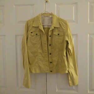 Tommy Bahama Stretch Yellow Green Jacket L
